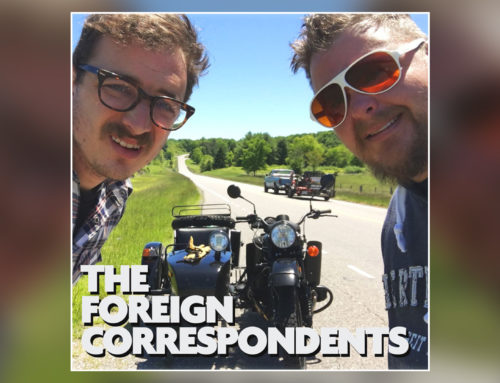 "Episode 15 – ""Mustache"" w/ The Foreign Correspondents"